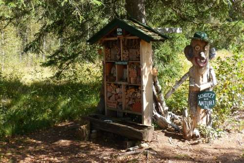 Insect Hotel Nature Conservation