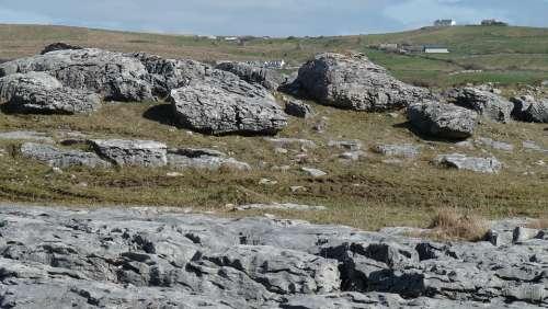 Ireland Rocks Landscape Nature