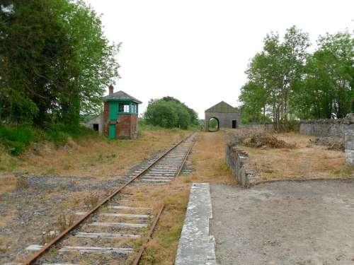 Ireland Ballyglunin Railway Station County Galway