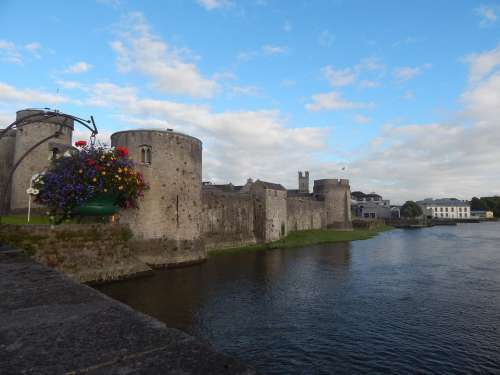 Ireland Castle River Travel Europe Sky