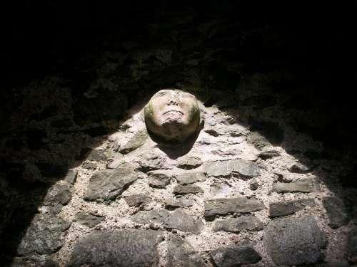 Ireland Cashel Face Stone Rock Ruins Monastery