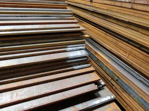 Iron Sheets Steel S235 Rust Corrosion