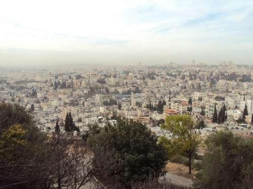 Israel Holy Land View City City View Jerusalem