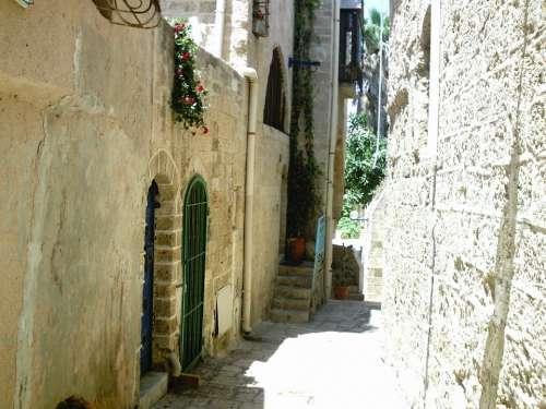 Israel Historic Center Alley Jews Jewish Houses