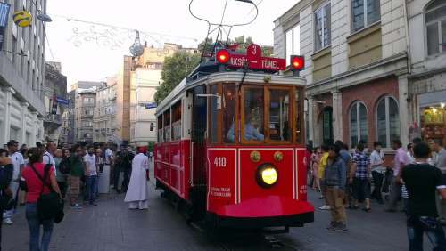 Istanbul Taksim Tram