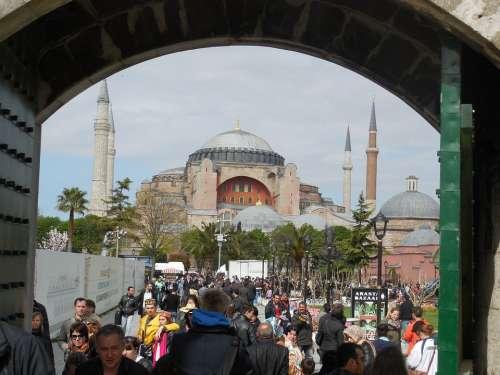 Istanbul Hagia Sophia Mosque