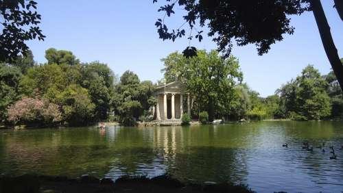 Italia Rome Villa Borghese