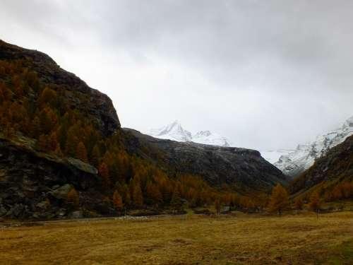 Italy Aosta Valley Aosta Gran Paradiso