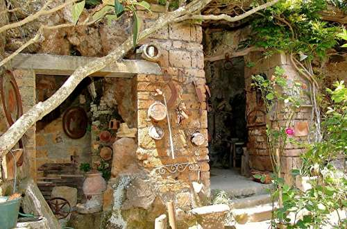 Italy Ruin Building Old Dilapidated Decay Magic