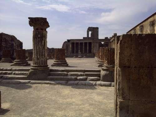 Italy Pompeii Europe Travel Italian Tourism
