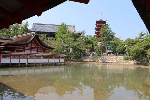 Itsukushima Shinto Shrine Miyajima Shrine Japan