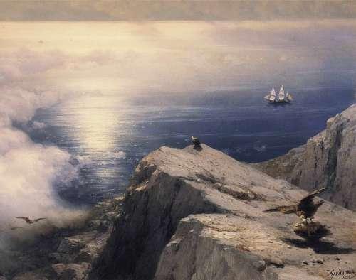 Ivan Constantinovich Landscape Painting Art