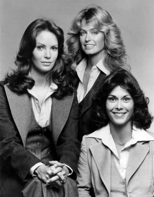 Jaclyn Smith Farrah Fawcett-Majors Kate Smith