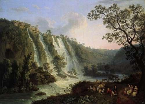 Jacob Hackert Painting Art Oil On Canvas Artistic
