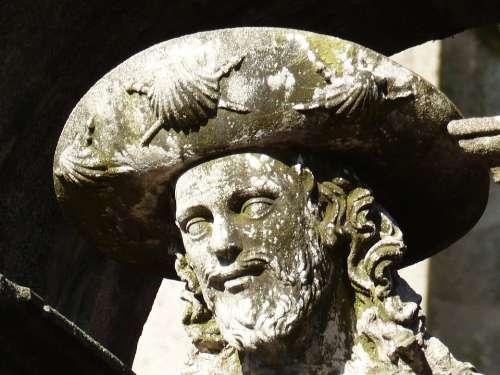 Jakob Sculpture Stone Stone Figure