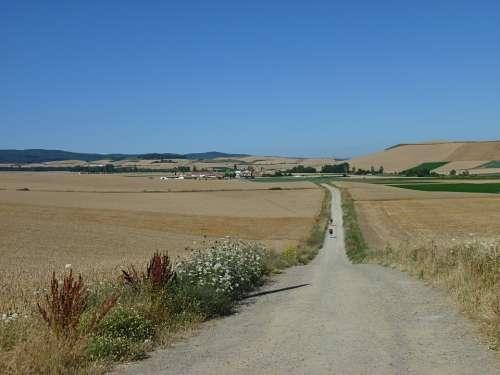 Jakobsweg Spain Gravel Road Make A Pilgrimage