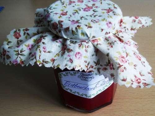 Jam Strawberries Breakfast Spread