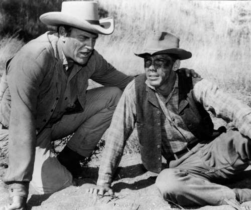 James Arness Ricardo Montalban Actors Vintage Retro