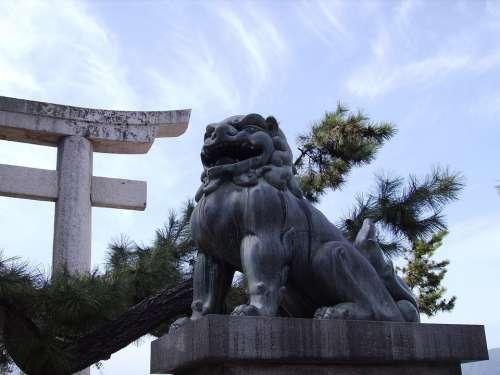 Japan Miyajima Shrine
