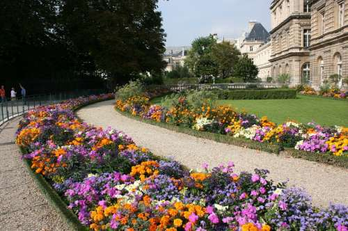 Jardin Du Luxembourg Luxembourg Paris