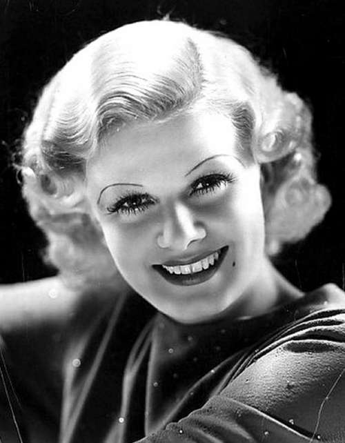 Jean Harlow Actress Film 30'S Vintage Classic