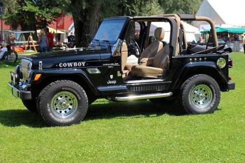 Jeep Auto Open Mature Wheels All Terrain Vehicle