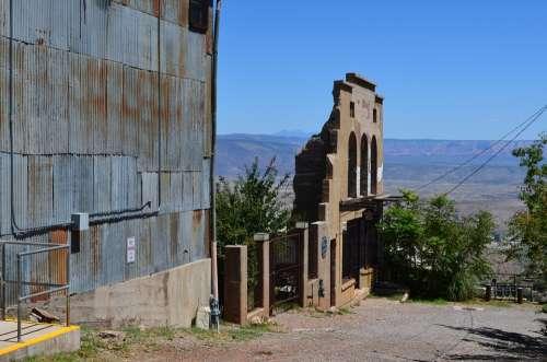 Jerome Arizona Town Old Desert Historic