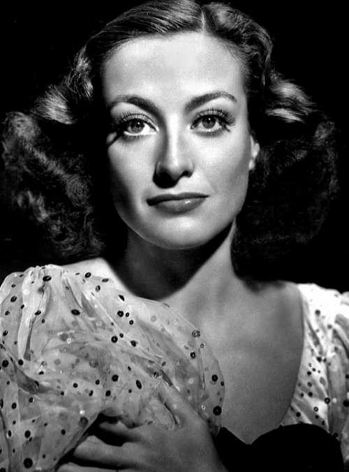 Joan Crawford Actress Classic Movie Nostalgia