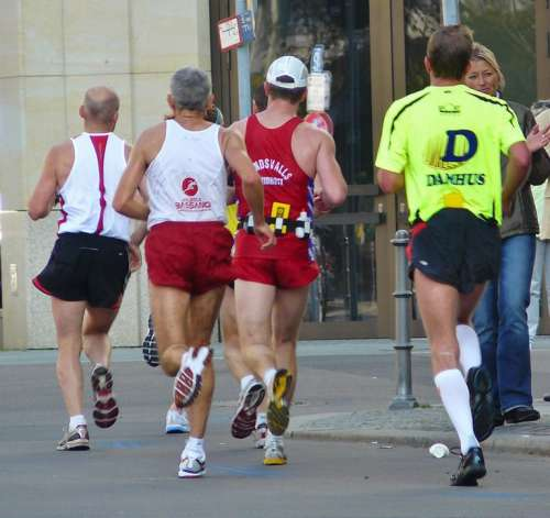 Jog Jogger Run Race Sport Feet Foot Athletes