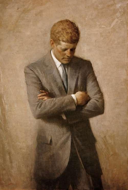 John F Kennedy President Usa United States America