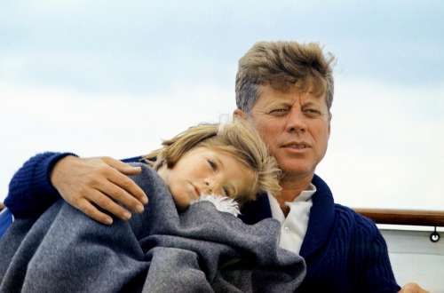 John Kennedy Caroline Kennedy 35Th President Usa