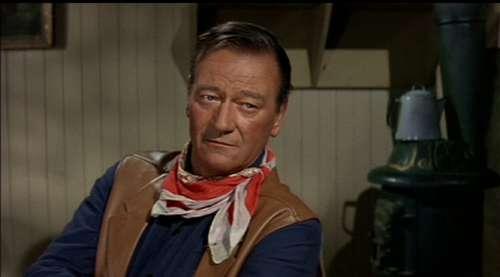 John Wayne Actor Vintage Western Cowboy Movies
