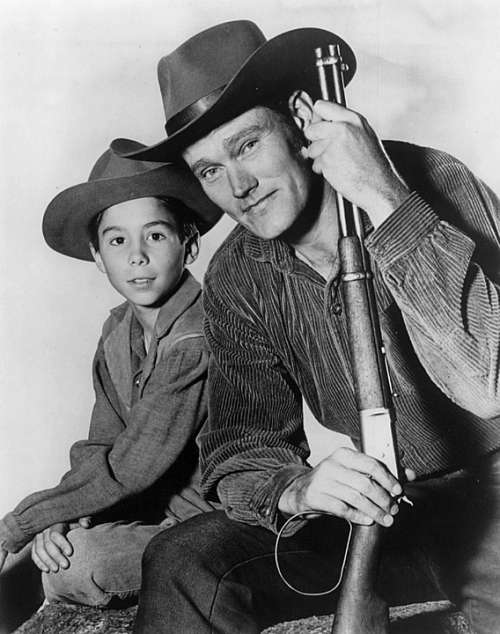 Johnny Crawford Chuck Connors Actors Retro Tv