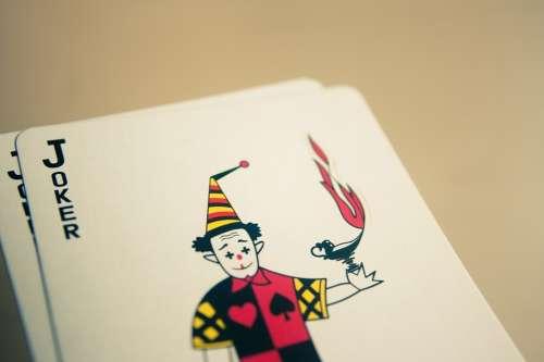 Joker Cards Card Deck Casino Poker Gambling Luck