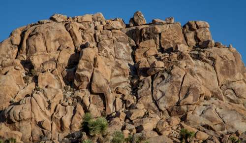 Joshua Tree Rocks Outcropping Outside Day