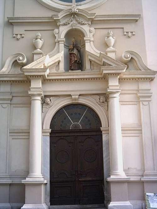 Judenburg Gate Input Church Styria