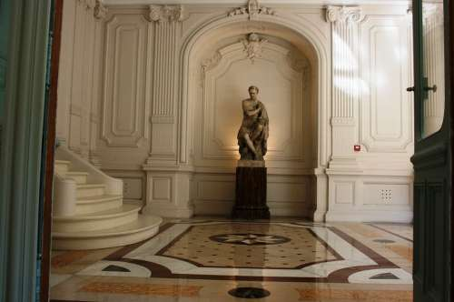 Julius Caesar Roman Emperor Sculpture