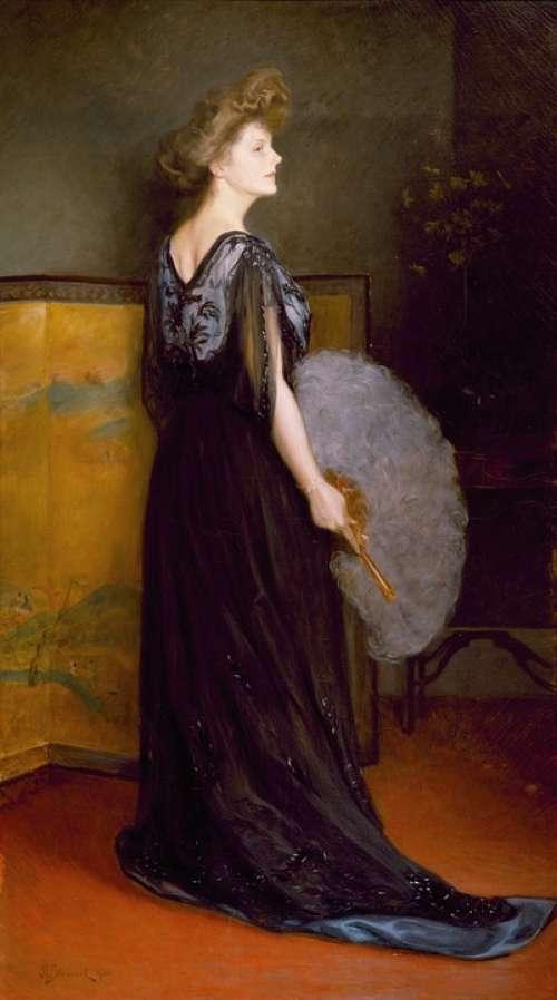 Julius Stewart Art Artistic Painting Oil On Canvas