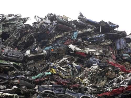 Junkyard Scrap Auto Broken Wreck Metal Garbage