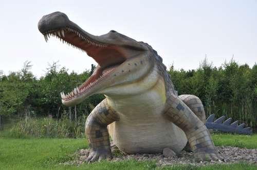Jurassic Park Alligator Animal Prahistoria