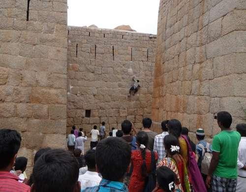 Jyothi Rai Spiderman Vertical Wall Climbing