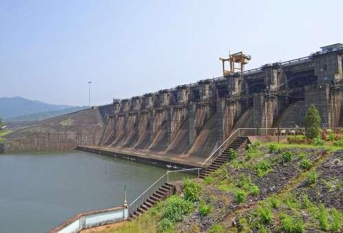 Kadra Dam Kali River Hydel Kadra