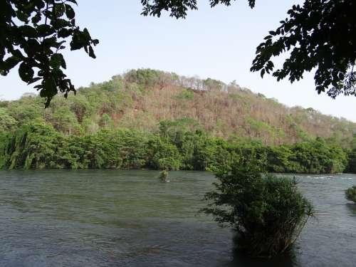 Kali River Dandeli Karnataka India Travel Wild