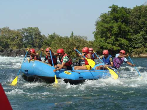 Kali River Dandeli Karnataka Rafting River Rafting