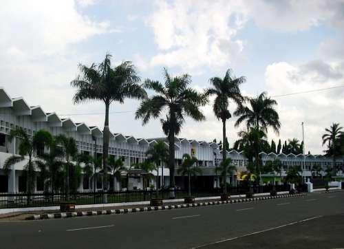 Kantor Pemda Jember Jawa Timur Indonesia Building