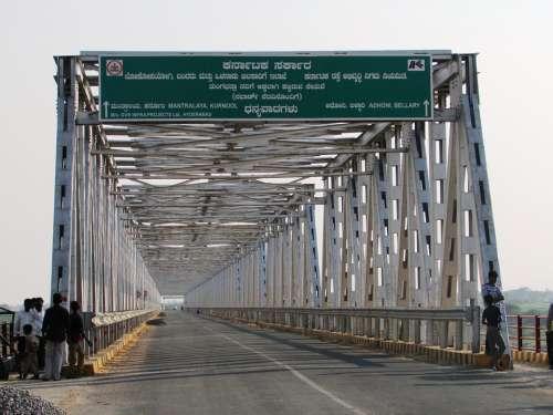 Karnataka Andhra Bridge India