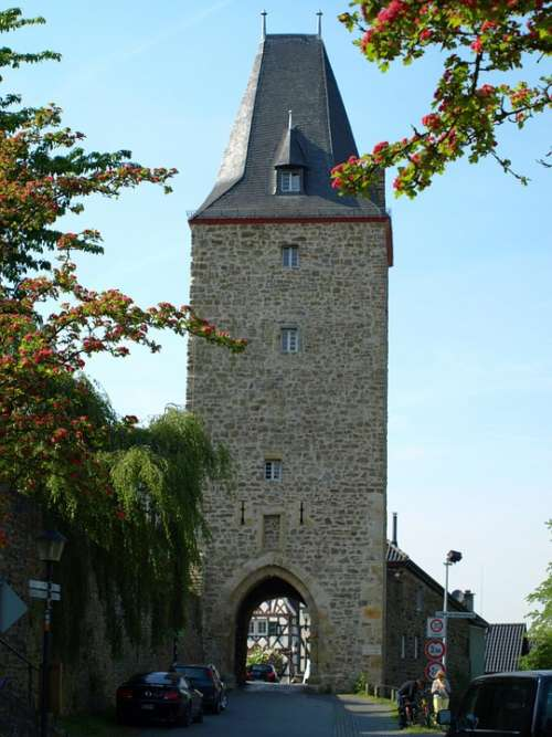 Katharinenturm City Blankenberg Tower Middle Ages