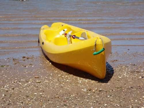 Kayak Pond Water