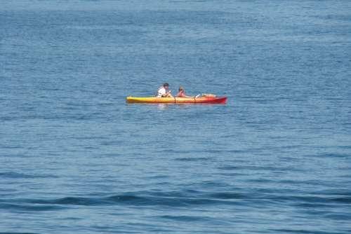 Kayak Water Fun Boat Kayaking Sport Activity