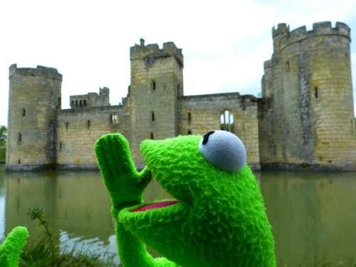 Kermit Frog Fun Castle Wasserburg